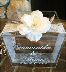 wedding gift card box personalized wedding card box money box wedding gift card