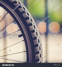 four lights detail mountain bike tire four lights stock photo 138120974