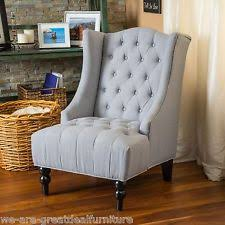 Eddie Accent Chair Wingback Chair Ebay