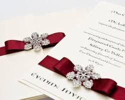 Christmas Wedding Invitations New Years Eve Wedding Invitation