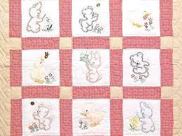 embroidery transfers for baby quilts embroidery baby quilts kits