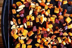 Oven Roasted Root Vegetables Balsamic - maple glazed root vegetables yum paleo grubs