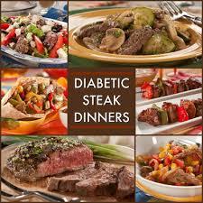 dinner for a diabetic 8 great recipes for a diabetic steak dinner