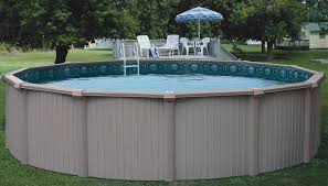 Great Pool Above Ground Swimming Pools And Easy Deck Installation U2014 Home