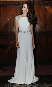 sheath wedding dress packham cap sleeved crepe sheath wedding dress 15 size 10