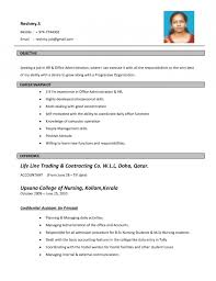 Promo Model Resume New Cv Format 2015 Free Download Resume Template Example