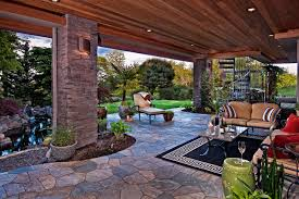 Backyard Living Room Ideas Exterior Delectable Outdoor Living Spaces Decoration Ideas Using