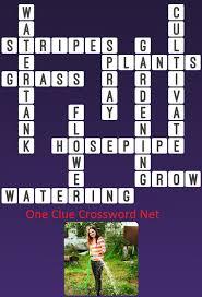 watering one clue crossword