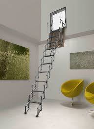 Retractable Stairs Design Inspiring Retractable Stairs Design Aluminum Ladder Retractable