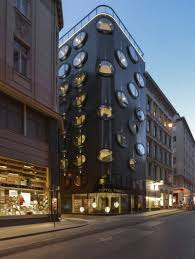 hotel topazz vienna boutique hotel packaged in a strikingly