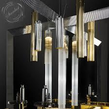 led cylinder pendant lights kartell rifly crystal modern long pendant l with 8w led light