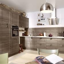 cuisine roi merlin meuble de cuisine décor chêne blanchi delinia karrey leroy