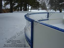 oversized ice rink kit