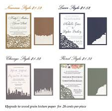 Pocket Invitation Cards Laser Cut Slide In Invitation Cards For Diy Invites Or Pocket