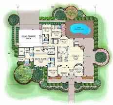 Luxury Ranch Floor Plans by 664 Best House Plans Images On Pinterest Dream House Plans