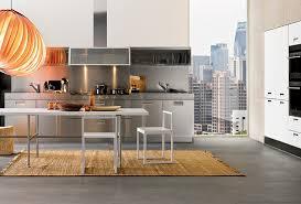 Steel Kitchen Cabinets 20 Kitchen Designs With Stainless Steel Elements Home Design Lover