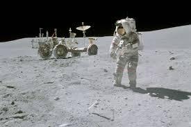 apollo astronauts often fell schedule on the moon the verge