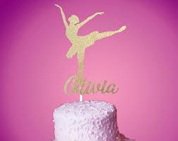 ballerina cake toppers cake topper etsy