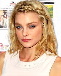braided hair styles for a rounded face type quick cute braided hairstyles for medium length wavy hair in light