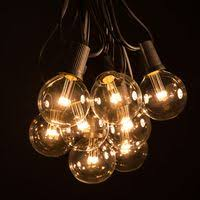white string lights g50 led string lights outdoor globe lights hometown evolution