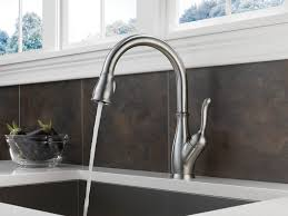 white delta kitchen sink faucets deck mount single handle pull