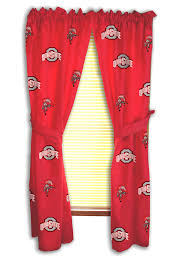 Ohio State Curtains State Curtains By College Covers