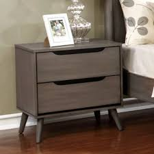 oak nightstands you u0027ll love wayfair