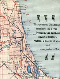 Chicago Railroad Map by Chicago Railroads And The World U0027s Columbian Exposition