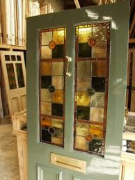 stained glass internal doors stained glass doors victorian edwardian glazed front doors london