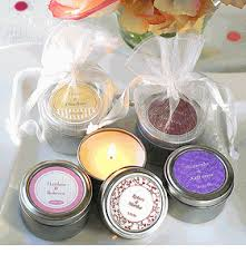 personalized candle favors personalized travel candle favor in a candle favor tin this