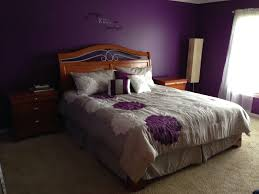 Pinterest Purple Bedroom by Purple U0026 Gray Bedroom Bedding From Kinglinen Com Paint Impulsive