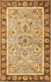 Overstock Oriental Rugs Syriana 6000 Grey Mocha Mahal Area Rug By Kas Oriental Rugs