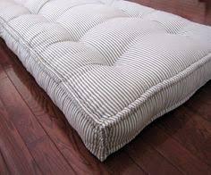 custom bench cushion ticking stripe window seat cushion french