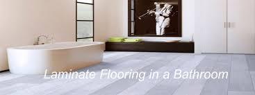 Bathroom Laminate Flooring Installing Laminate Flooring In A Bathroom The Flooring