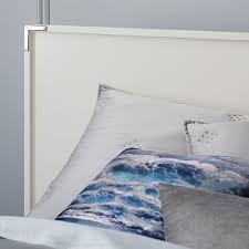 malone campaign headboard white lacquer west elm