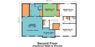 2nd floor house plan chesterfield fine line homes