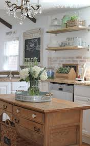 how to decorate a rustic kitchen gracie blue farmhouse home tour rustic farmhouse kitchen