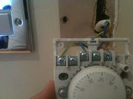 thermostat installation electrical job in west drayton