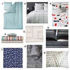 roundup modern duvets and quilts design milk