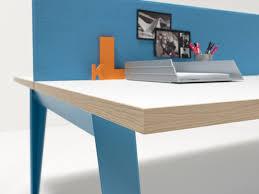 bureau haut bureau bench haut de gamme avec piétement design compas