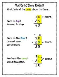 2 digit subtraction with and without regrouping mega bundle tpt