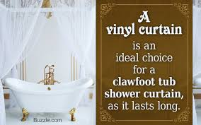 Clawfoot Tub Shower Curtain Liner Clawfoot Tub Shower Curtain