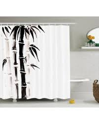 Bamboo Bathroom Accessories by Red Summer Savings On Bamboo House Decor Shower Curtain Set