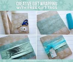 tissue paper gift wrap creative gift wrapping with free gift tags printable crush