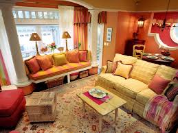 home decor and decorating with orange color palette and schemes