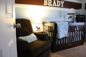 baby room entrancing ideas for brown and blue baby nursery room