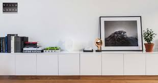ikea hack 7 meter long sideboard from metod kitchen cabinets