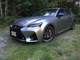silver lexus on the road review lexus gs f sports sedan the ellsworth