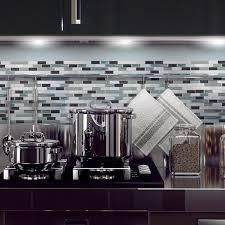 Self Adhesive Backsplash Tiles Lowes by Shop Smart Tiles Sm1041 Muretto Brina Self Adhesive Wall Tile At