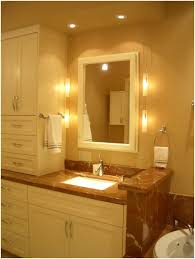 interior bathroom vanity lighting image of contemporary bathroom